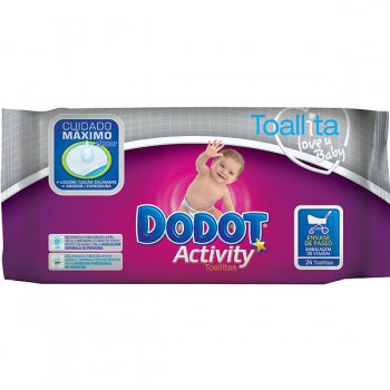 dodot activity toallitas