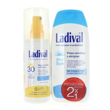 ladival spray pieles sensibles o alergicas
